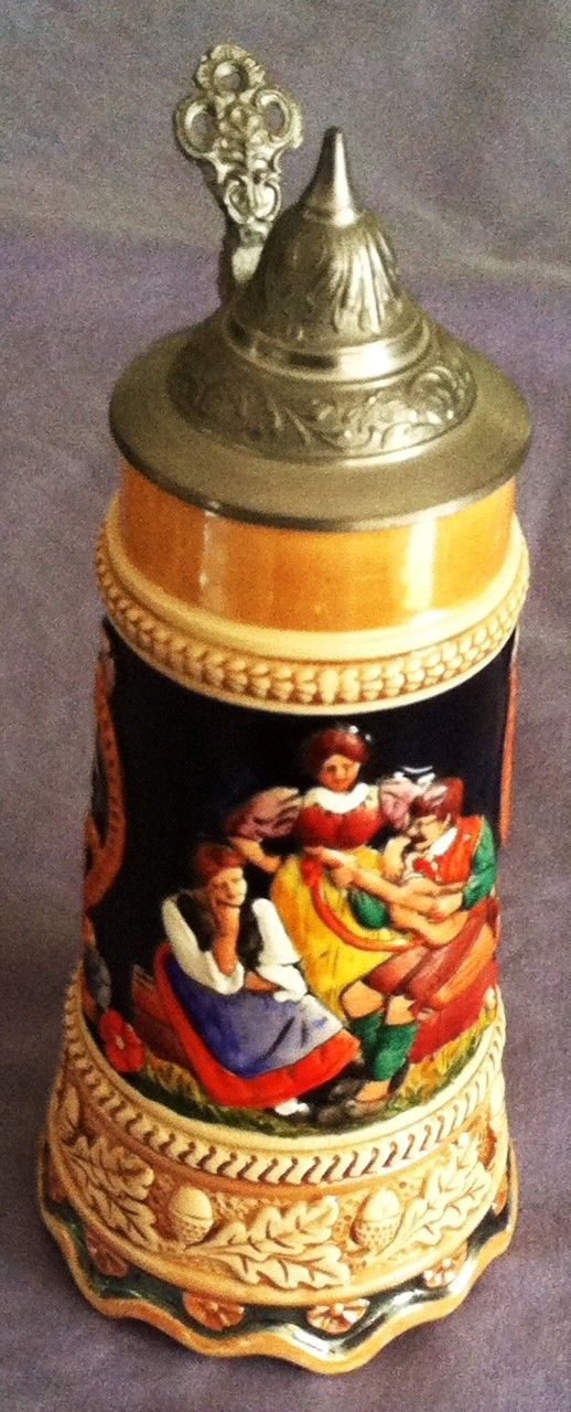 VINTAGE STEIN! Trinke Klar Rede Wahr Lidded BEER STEIN Mug w Music Box MAN CAVE! | Collectibles, Breweriana, Beer, Drinkware, Steins | eBay!