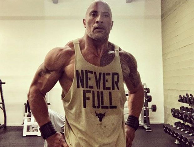 Take on The Rock's chest workout - Men's Health