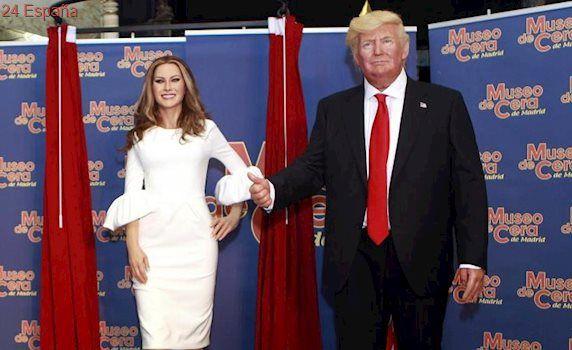 Melania Trump aterriza en el Museo de Cera