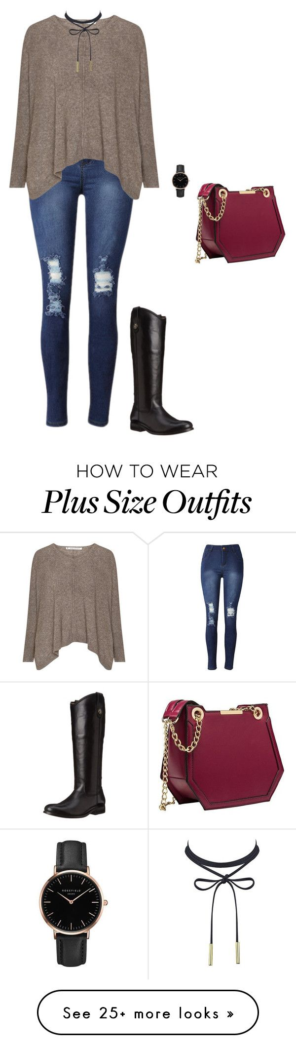 """Untitled #540"" by taylor-edmonds on Polyvore featuring Topshop and Frye"