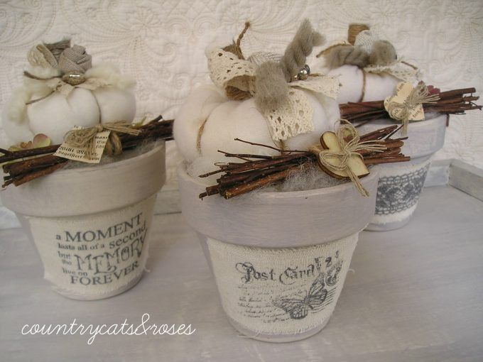 effetto shabby vasi : Vasi Di Terracotta su Pinterest Vasi di terracotta, Dipingere vasi ...