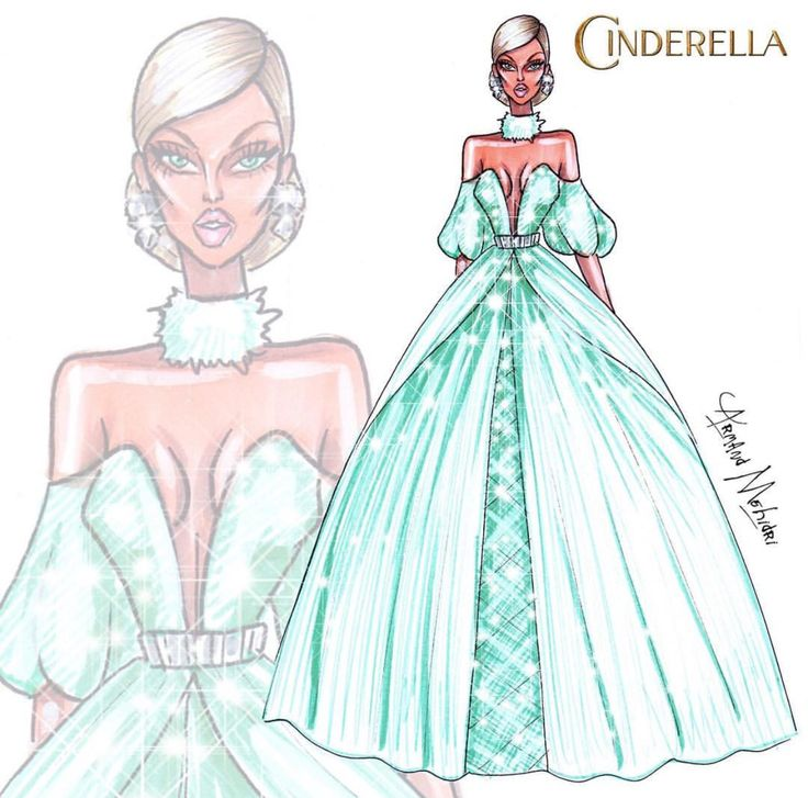 Cinderella #Disney #HauteCouture by ARMAND MEHIDRI| Be Inspirational ❥|Mz. Manerz: Being well dressed is a beautiful form of confidence, happiness & politeness