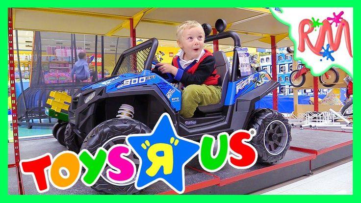 В магазине ИГРУШЕК Покупаем новую игрушку Куча игрушек в огромном магази...
