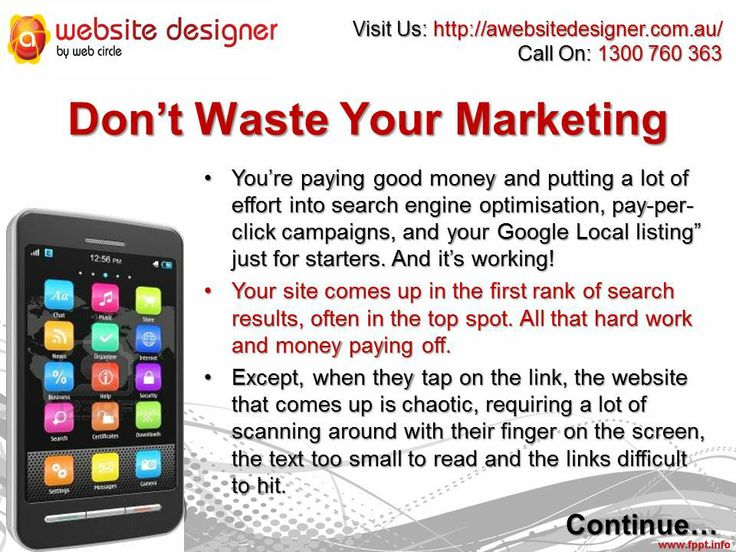 Don't Waste Your Marketing