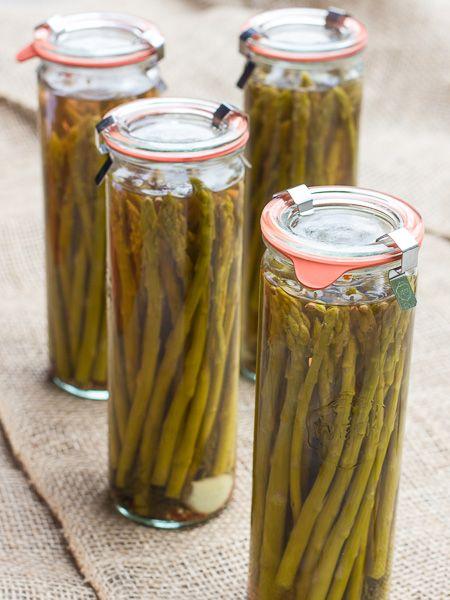 Pickled Asparagus | Homesteading | Pinterest