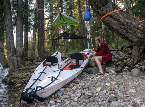 ORU BAY FOLDING KAYAK AND TENTSILE STINGRAY COMBO DEAL