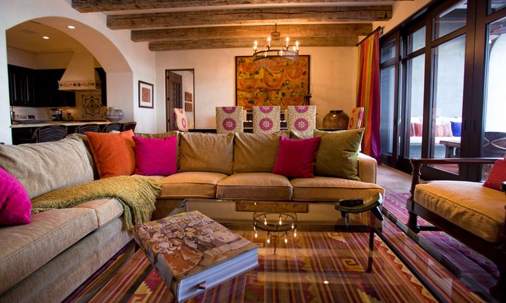 Casa Paulina - Mexican Colorfull Interior Design - Los Cabos, Mexico