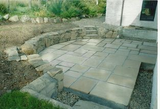 sunken outdoor sitting area   sunken patio was designed for entertaining and provides an outdoor ...