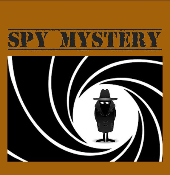 Spy Mystery Game fun birthday party game  fun by KidsMysteryGames