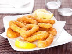 Calamars frits en beignets : Recettes espagnoles | FemmesPlus