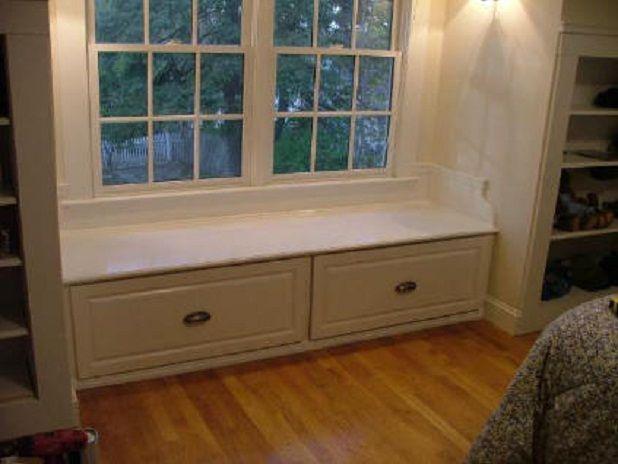 DIY   Window Bench Seats