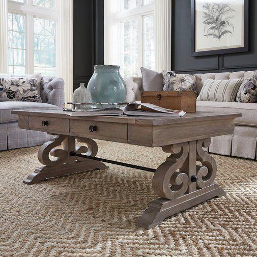 Greyleigh Ellenton Coffee Table With Storage Reviews Wayfair