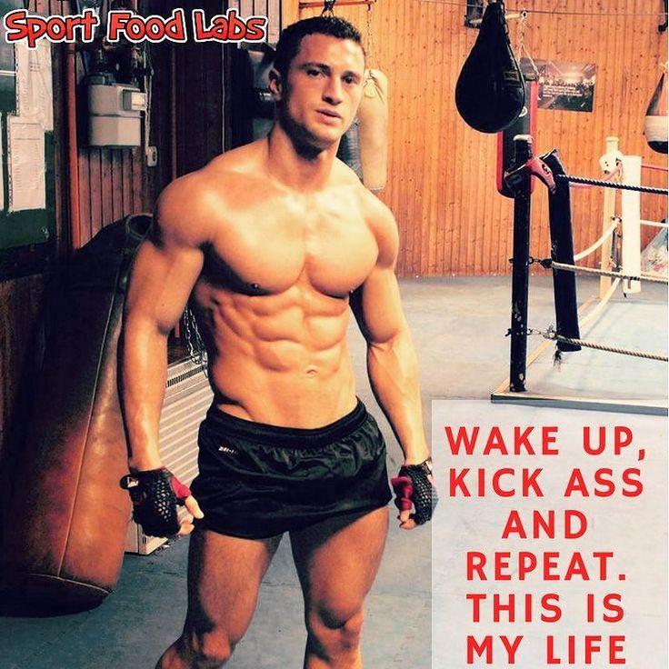 Wake Up Kick Ass And Repeat. This Is My Life!    Alzarmi Spaccare il Culo e Ricominciare. Questa è la Mia Vita!      Follow Us @sportfoodlabs    Seguici @sportfoodlabs    Our Tags: #SportFoodLabs #Fuscle #FuscleTeam