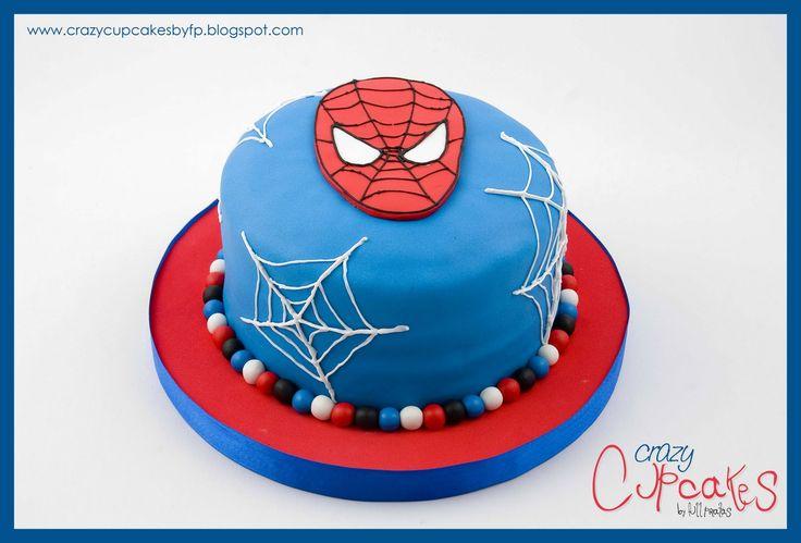 Para el Cumple N°3 de Manuel preparamos una Torta del Hombre Araña, acompañada por Una Piñata de Full Piñatas . No quedo genial???     Mucha...