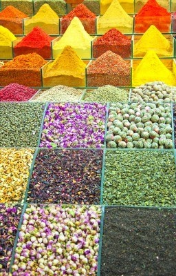 Istanbul, Egyptian Spice Bazaar - One of the largest bazaars in the city. What a magnificent sight!