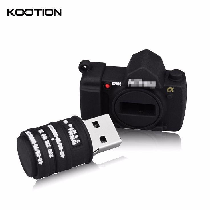 Mini Model Flash Drive Camera USB 2.0 Pendrive 64GB 32GB Memoria USB Keys Pen Drive Personalized Gift Memory Stick Free Shipping #Affiliate