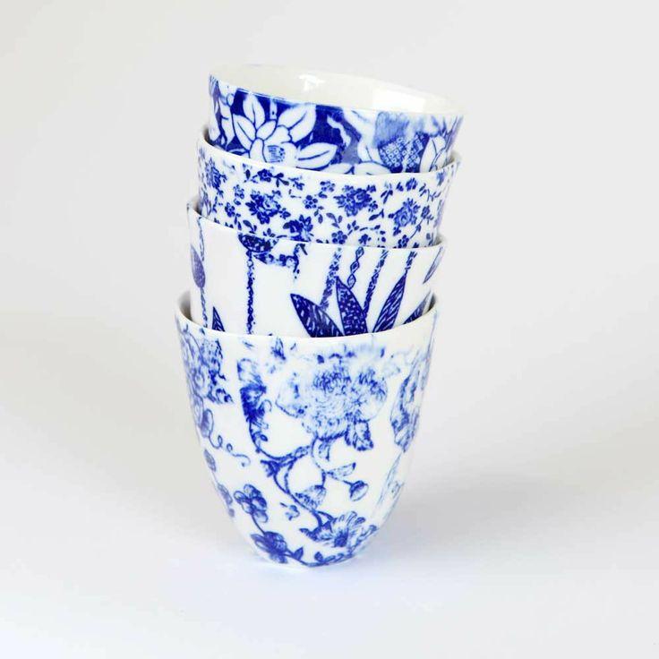 Samantha Robinson Ceramics ; Tea Cups