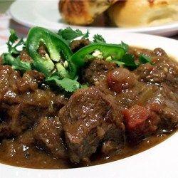 Beef, Green Chili and Tomato Stew - Allrecipes.com