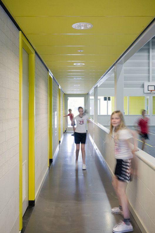 Sports Hall 'De Smeltkroes' Liessel,© Marcel van der Burg