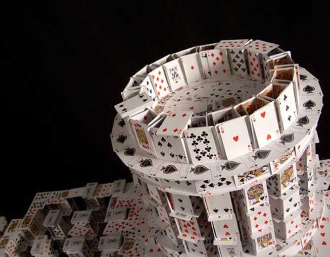 Card Tricks 5: Profess Cardstack, Plays Cards Stacking, Videos Screens Shots, Viral Videos, Decks Of Cards Sculpture, Cards Tricks, Cards Reading, Cards Cards, Bryans Berg