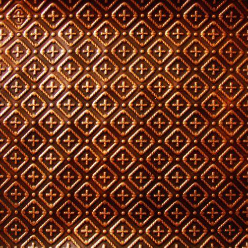 Kitchen Backsplash Faux Decorative Antique Copper Plastic