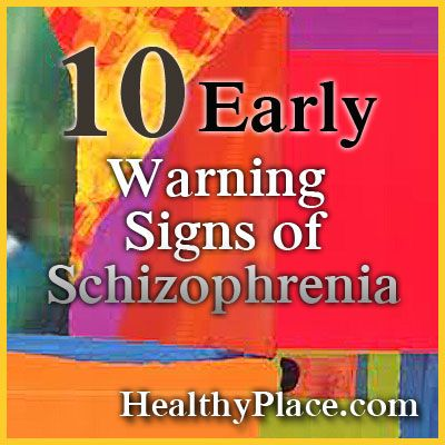 Early schizophrenia signs can occur starting in teen years. Early signs of schizophrenia include difficulty differing fantasy from reality and social isolation.