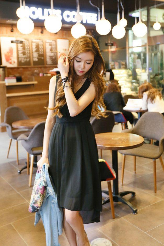 Chiffon Unbal Dress