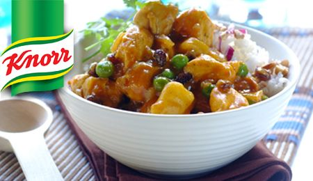 Treat your family to the hot and spicy flavours of a good chicken curry from Durbs. It's a bargain!