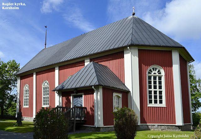 Raippaluodon kirkko. JPK-kuvablogi: syyskuuta 2012