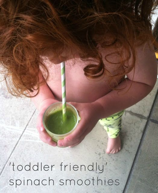 Baby Boy Bakery .: Spinach Smoothies Fun For Toddlers