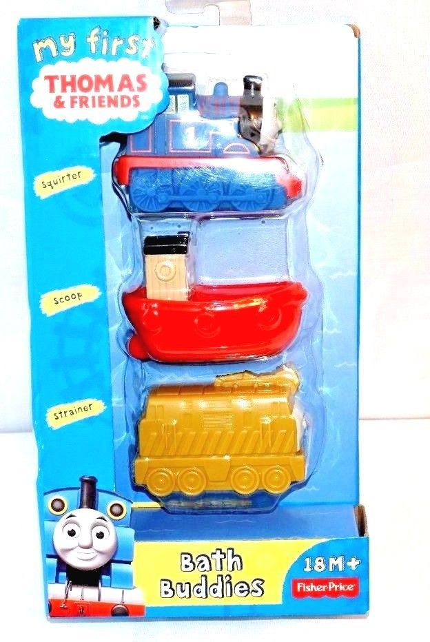 Thomas & Friends Bath Buddies WATER TOYS FOR PLAYING EVEN Thomas squirts water