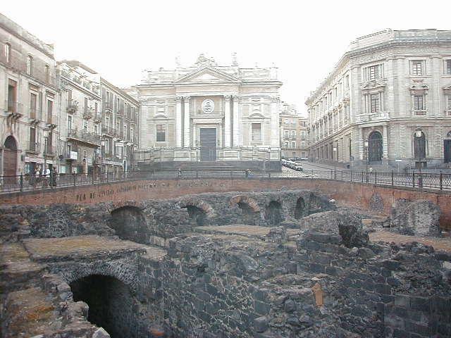 Teatro Greco Romano Piazza Stesicaro Catania