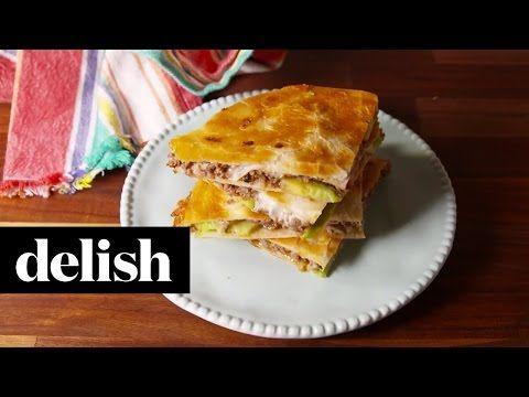 Ultimate Quesadilla | Delish - YouTube