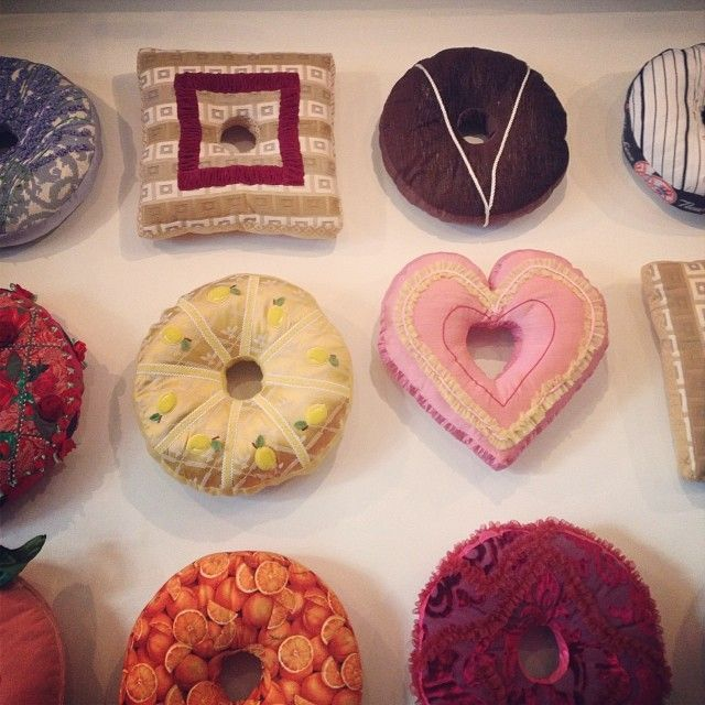 Donut shaped pillow <3 ! -  (Discover Sojasun Italian Facebook, Pinterest and Instagram Pages!)