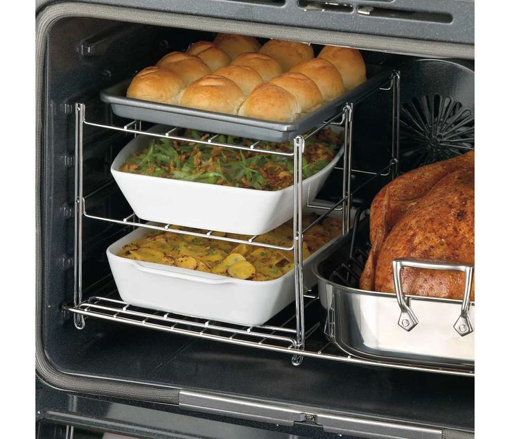 3-Tier Oven Rack for Holiday CookingIdeas, Nifty 3 Tiered, 3 Tiered Ovens, 3Tier Ovens, Cooking, Ovens Racks, Three Tiered Ovens, Threetier Ovens, Ovens Companion
