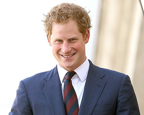 Prince Harry at the La Moneda Presidential Palace on June 27, 2014