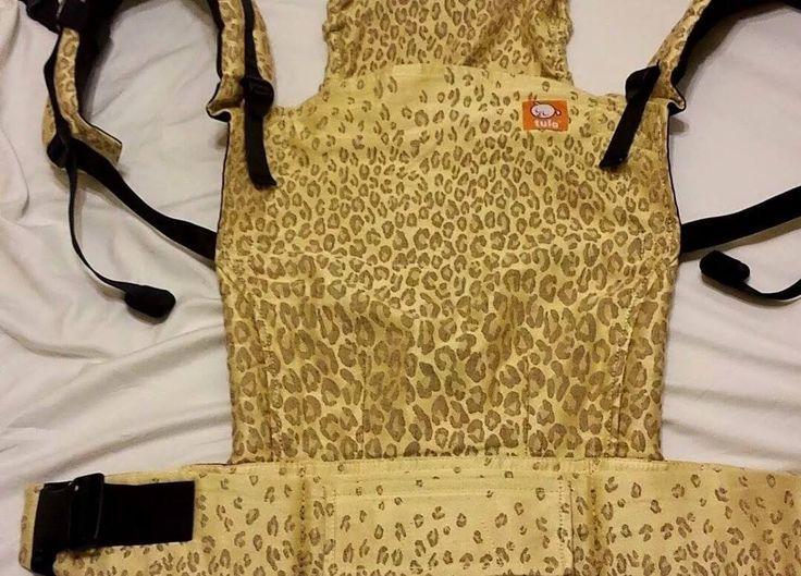Natibaby Golden Leopard TULA BABY CARRIER