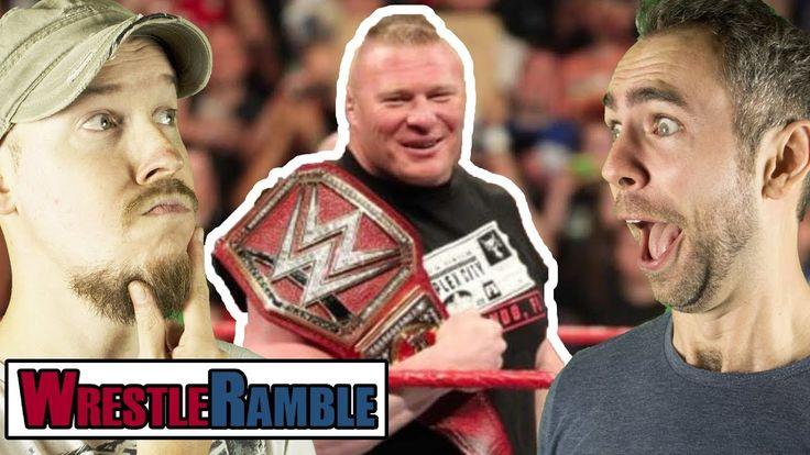 Brock Lesnar's WWE Royal Rumble 2018 Match? What Next For Finn Balor?!  ...