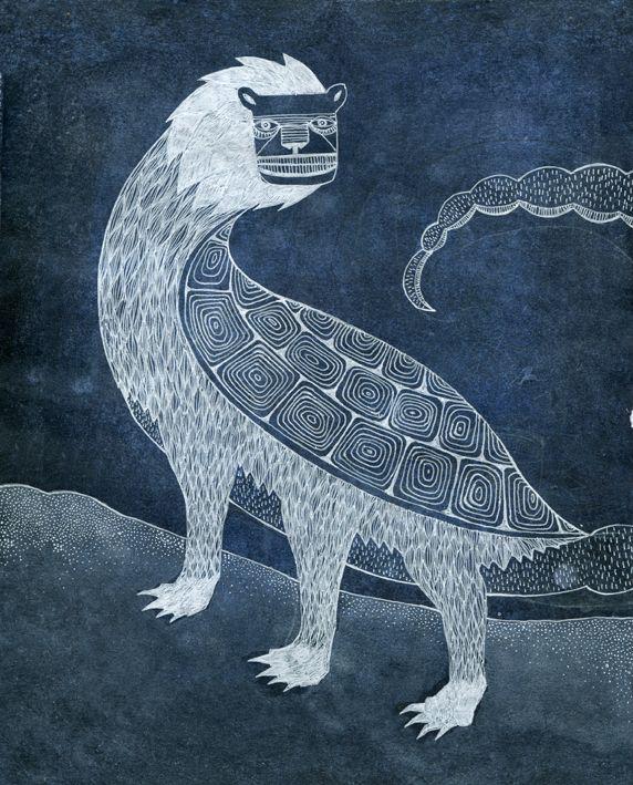 Sigrid Rødli - Tarasque (The Encyclopedia of Legendary Monsters)