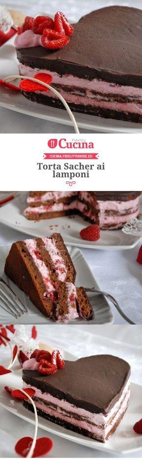 Torta Sacher ai lamponi della nostra utente Alice. Unisciti alla nostra Community ed invia le tue ricette!