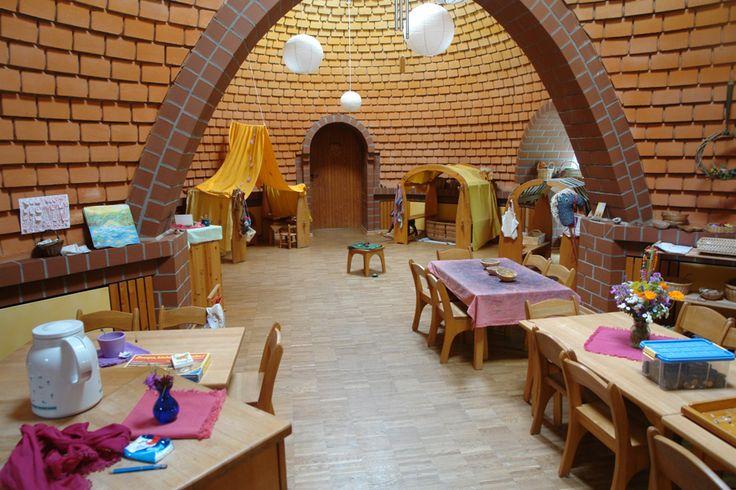 Waldorf interior design Waldorfkindergarten Sorsum