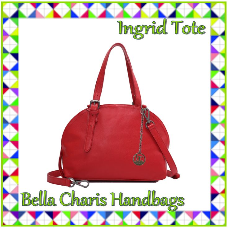 Bella Charis Ingrid Leather Tote [3 colours]