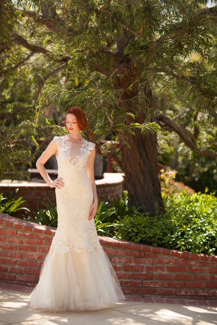 16 best images about elegant outdoor wedding on pinterest for Best outdoor wedding dresses