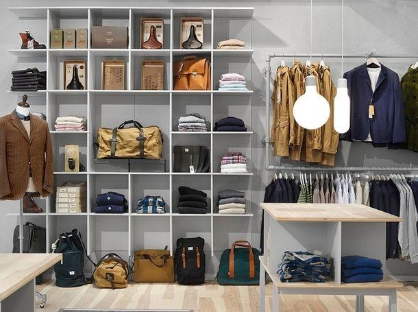 Habersdash, стокгольмский магазин для современных денди. Авторы интерьера Form Us With Love, 2012