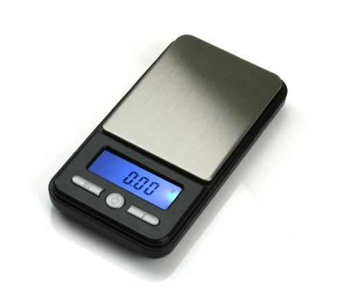 42% Off was $24.95, now is $14.49! American Weigh Scale Ac-100 Digital Pocket Gram Scale, Black, 100 G X 0.01 G