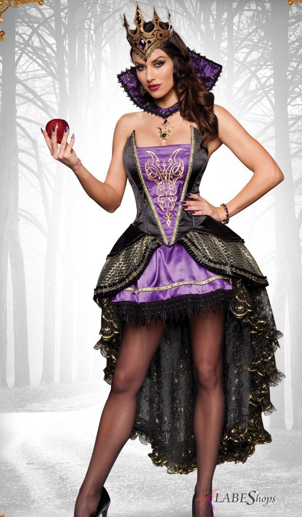 Evil Queen Adult Womens Costume by InCharacter Costumes IC-8016 from Burlesque Diva