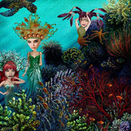 UnderTheSea_web by Lisa Dolan Xquizart & January Art