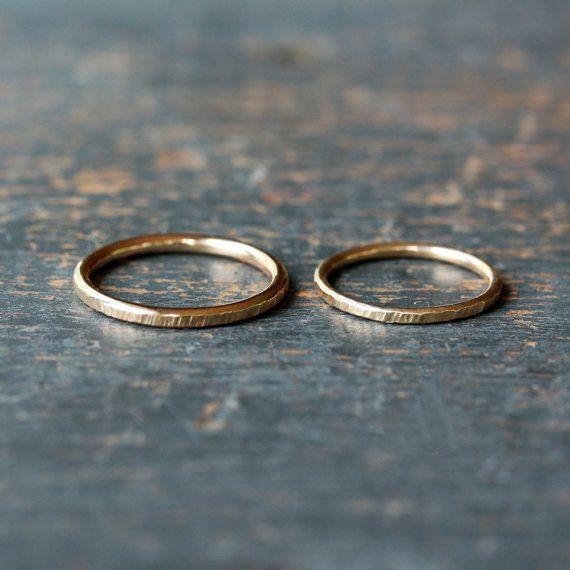 Dieses wunderschöne Hochzeit Ring-Set ist die perfekte Lösung für Ihre Union …