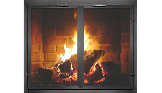 11 Best Fireplace Doors Images On Pinterest Fire Places Fireplace