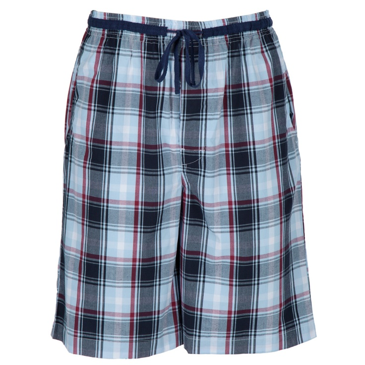 Majestic Plaid Lounge Short #VonMaur